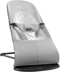 BabyBjorn Bouncer Balance Soft, Mesh - Silver / White