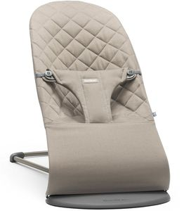 BabyBjorn Bouncer Bliss, Cotton - Sand Gray