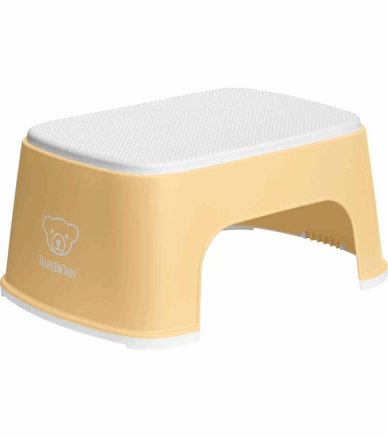 Babybjorn Step Stool Powder Yellow White