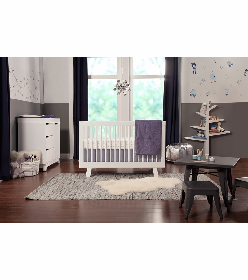Babyletto Hudson 3 In 1 Convertible Crib With Toddler Bed Conversion