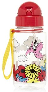 Babymel Drinking Bottle with Straw - Floral Multi