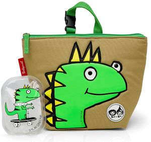 Babymel Lunch Bag + Ice Pack - Dylan Dino Face
