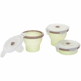 Babymoov Silicone Containers, 8 oz - 3pk