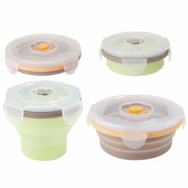 Babymoov Silicone Containers, Multi-size - 4pk
