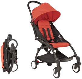 Babyzen Yoyo 6+ Stroller 2015 Black / Red