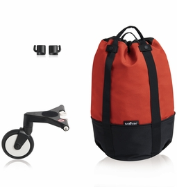 Babyzen Yoyo2 and Yoyo+ Rolling Bag - Red