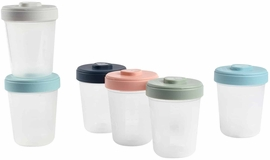 Beaba Baby Food Clip Containers Set of 6 - Large