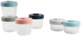 Beaba Baby Food Clip Containers Set of 6 - Small