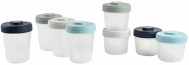 Beaba Baby Food Clip Containers Set of 8 - Large