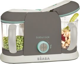 Beaba Babycook Pro 2X Baby Food Blender - Latte Mint - D