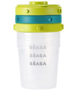 Beaba Clip Containers - Peacock
