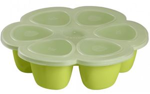 Beaba Multiportions 3oz Silicone Tray - Neon
