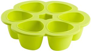 Beaba Multiportions 5oz Silicone Tray - Neon