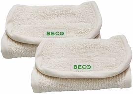 Beco Baby Organic Drooling Pads in Natural Organic, Set of 2