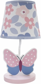 Bedtime Originals Butterfly Meadow Lamp with Shade
