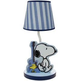 Bedtime Originals Hip Hop Snoopy Lamp with Shade
