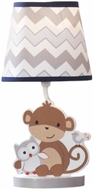 Bedtime Originals Mod Monkey Lamp with Shade