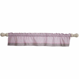 Bedtime Originals Pinkie Window Valance