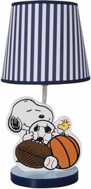 Bedtime Originals Snoopy Sports Lamp