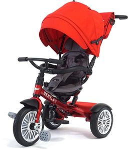 Bentley 6-in-1 Baby Stroller / Kids Trike - Dragon Red
