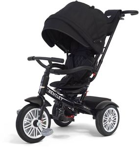 Bentley 6-in-1 Baby Stroller / Kids Trike - Onyx Black