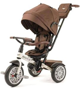 Bentley 6-in-1 Baby Stroller / Kids Trike - Satin White