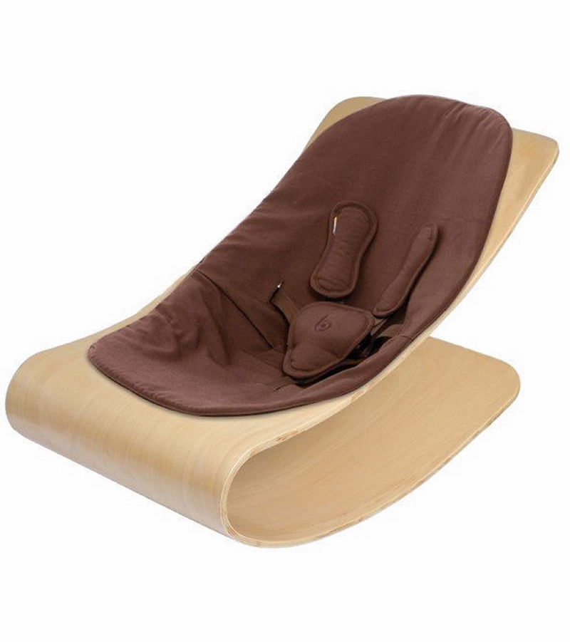 68e20a2365aa Bloom Coco Stylewood Baby Lounger - Natural Henna Brown