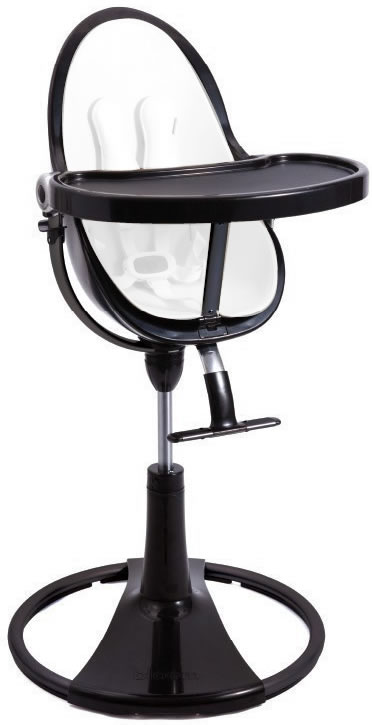 Bloom Fresco Chrome High Chair Frame Black
