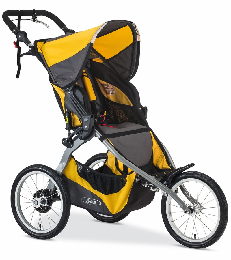 BOB 2017 / 2018 Ironman Stroller - Yellow
