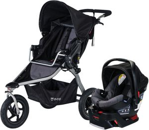 BOB 2020 Rambler Travel System - Black