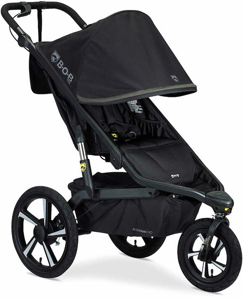 BOB Alterrain Pro Single Jogging Stroller - Black
