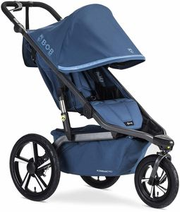 BOB Alterrain Pro Single Jogging Stroller - Blue