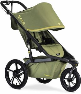 BOB Alterrain Pro Single Jogging Stroller - Olive