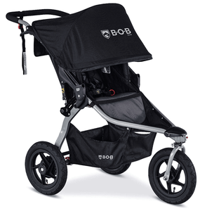 BOB 2020 Rambler Single Jogging Stroller - Black (New Logo)