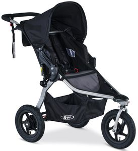 BOB 2018 / 2019 Rambler Single Jogging Stroller - Black