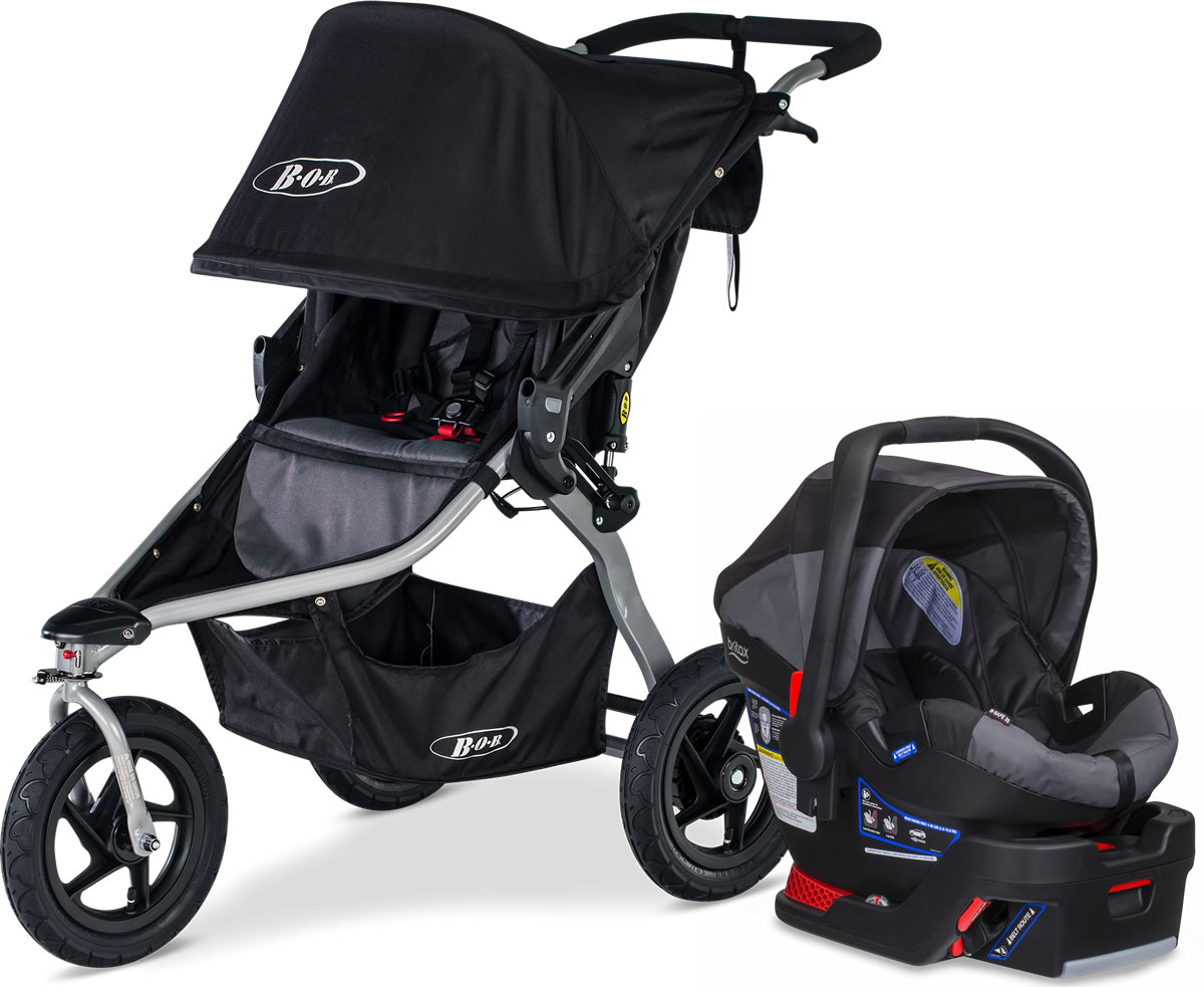 73ad3fec1 BOB Rambler Travel System - Black