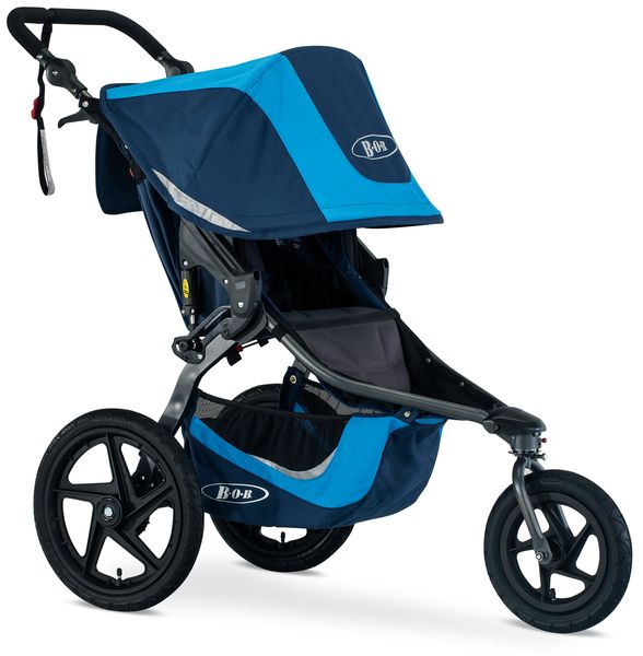 BOB Revolution Flex 3.0 Single Jogging Stroller 2019 Glacier Blue