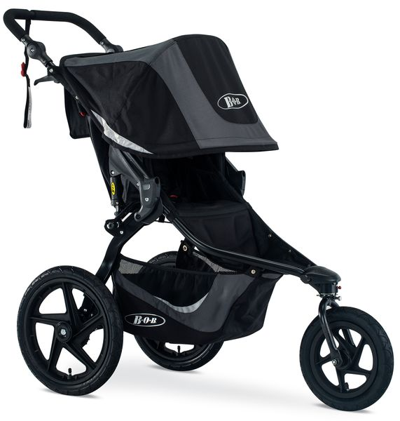 BOB Revolution Flex 3.0 Single Jogging Stroller 2019 Graphite Black