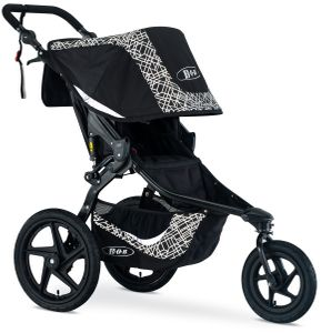 BOB Revolution Flex 3.0 Single Jogging Stroller 2019 Lunar Black