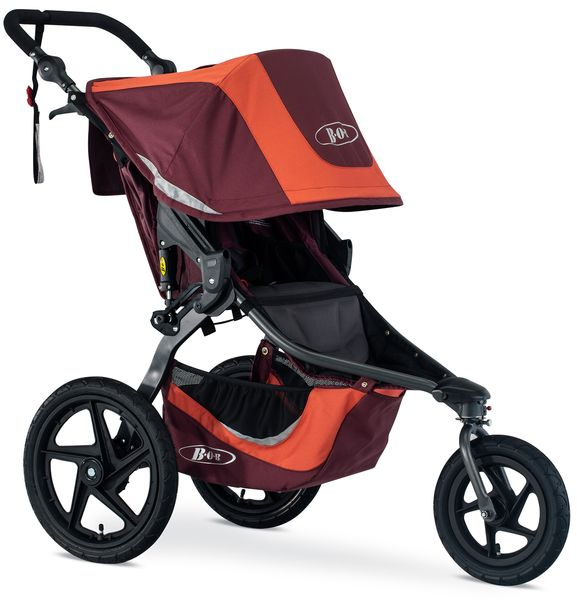BOB Revolution Flex 3.0 Single Jogging Stroller 2019 Sedona Orange