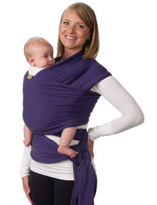 Boba Wrap Baby Carrier - Purple