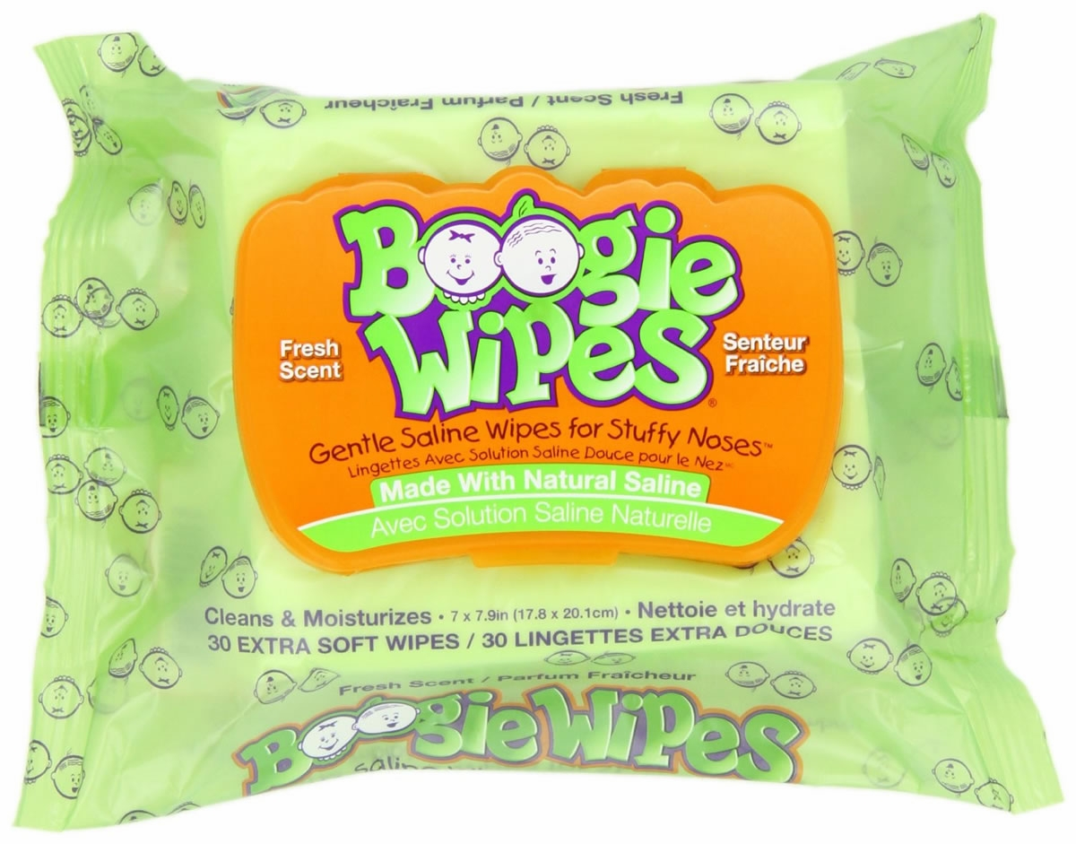 Boogie Wipes Original Fresh Scent (30 ct)