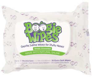 Boogie Wipes Unscented (30 ct)