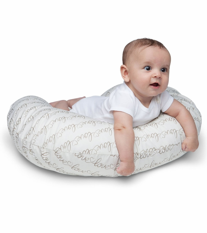 Boppy Nursing Pillow With Slipcover Love Letters