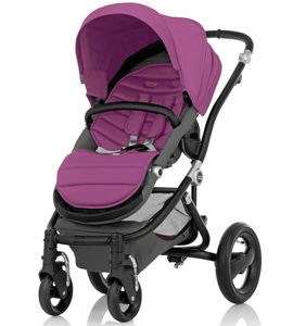 Britax Affinity Complete Stroller, Black - Cool Berry