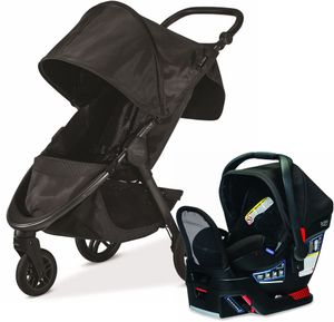 Britax B-Free + Endeavours Travel System - Midnight/Circa