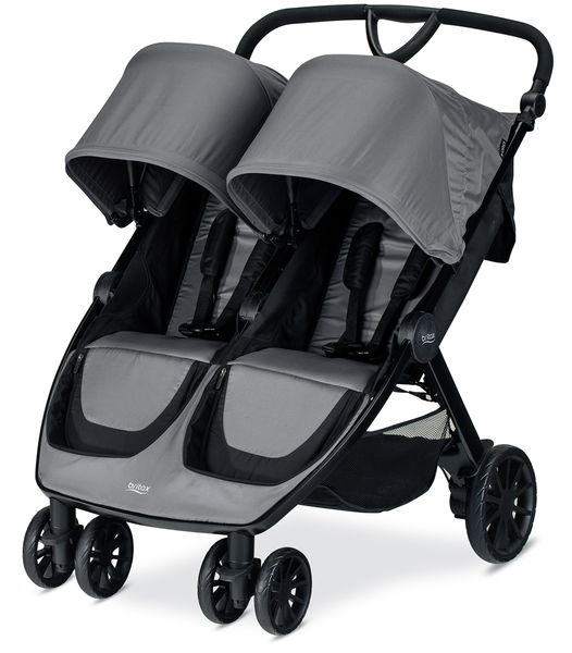 Britax B-Lively Double Stroller - Dove