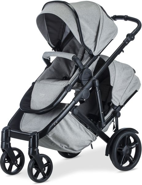 Britax B-Ready G3 Double Stroller - Nanotex (Moisture, Odor, and Stain Resistant Fabric)