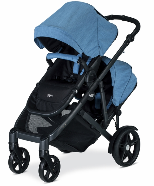 Britax B-Ready G3 Double Stroller - Lapis (Albee Exclusive)