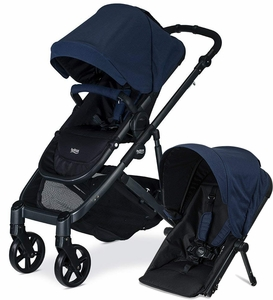 Britax B-Ready G3 Double Stroller - Navy